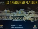 BA > Bolt Action -American Armoured Platoon (3 Shermans)