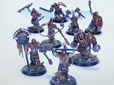 Sprues> Iron Golems Warband Warcry Core Set WCS02 4*6
