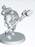 40k Death Watch Kill Team Heavy Thunder Hammer SfDWKTV01 4*6