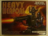 A Box > Shock Troopers Heavy Weapons - 3 teams 2 officer plastic