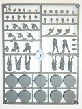 Wargames Factory Sprue> German Late War Infantry - 10 Troops