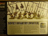 Bolt Action Box> Russian Soviet Winter Infantry 40 Plastic Troop