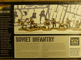 Bolt Action Box> Russian Soviet Infantry - 40 Plastic Troops