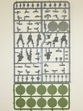 Bolt Action Sprue> Russian Soviet Infantry - 8 Plastic Troops