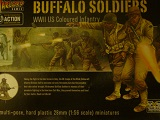 Bolt Action Box> American US Buffalo Soldier Infantry -28 Troops