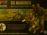 Bolt Action Box> American US Marines - 12 Plastic Troops
