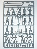 Pike & Shotte Sprue> Royalist Infantry - 13 Plastic Troops